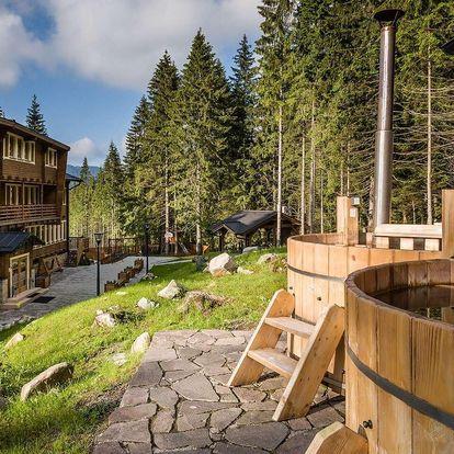 Hotel Björnson pod Chopkem s finskými káděmi