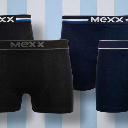 Pánské boxerky Mexx: 2 kusy v balení, černé či navy