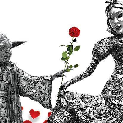 Tip na Valentýna: vstup do Galerie ocelových figurín