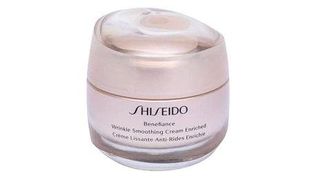 Shiseido Benefiance Wrinkle Smoothing Cream Enriched 50 ml denní a noční krém proti vráskám pro ženy