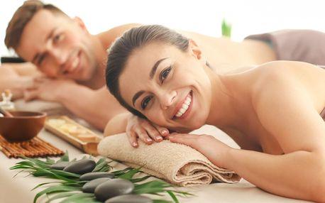 Hodinová párová masáž nejen na Valentýna
