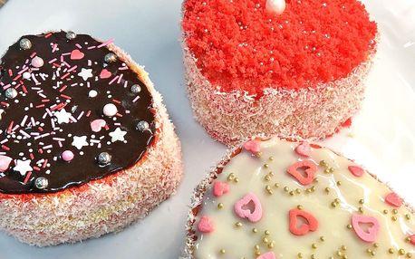 Valentýnské dobroty: dortíky, muffiny i pralinky