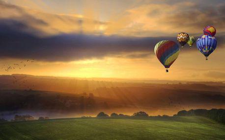 Nejoblíbenější romantický let balonem pro dva: Zlevněná letenka