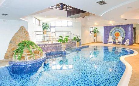 Vysoké Tatry: Hotel Amália *** s neomezeným vstupem do bazénu a wellness + polopenze