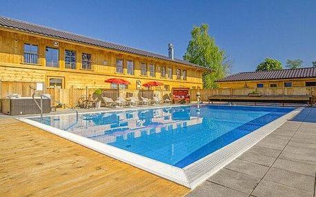 Bavorsko u Salzburgu: Hotel Rupertihof se vstupem do wellness a lázní (3 000 m²), vyžitím pro děti a polopenzí