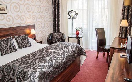 Relaxační pobyt v Parkhotelu Morris**** v Lužických horách s polopenzí, wellness a solnou místností