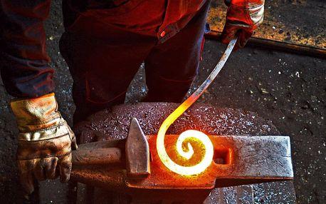 5hodinový kovářský kurz s výrobou dárku