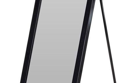 Home Styling Collection Obdélníkové zrcadlo 126 cm, černé