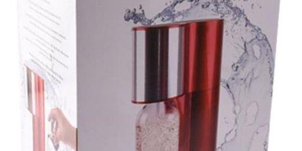Orion 130650 Výrobník sodové vody Aquadream červený3