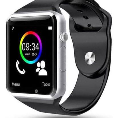 Chytré bluetooth hodinky pro Android smartphony s kamerou - dodání do 2 dnů
