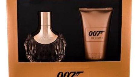 James Bond 007 James Bond 007 For Women II dárková kazeta pro ženy parfémovaná voda 30 ml + tělové mléko 50 ml