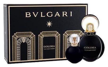 Bvlgari Goldea The Roman Night dárková kazeta pro ženy parfémovaná voda 50 ml + parfémovaná voda 15 ml