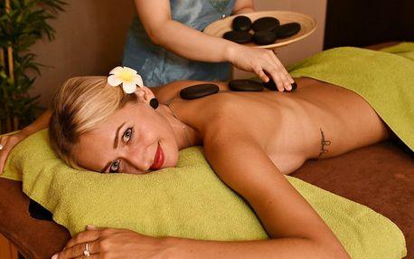 Nechte se hýčkat: masáž dle výběru a aroma lázeň