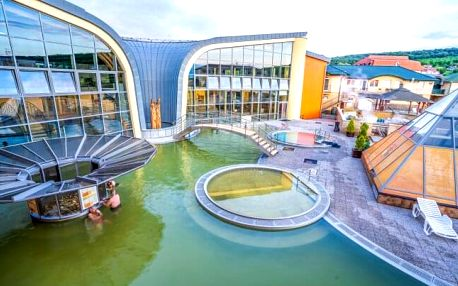 Podhájska: Penzion Green House blízko termálů se vstupem do Aquamarin wellness a slevou do Římských lázní