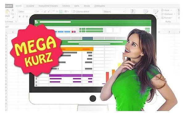 Online MEGA kurz Excelu s neomezeným přístupem