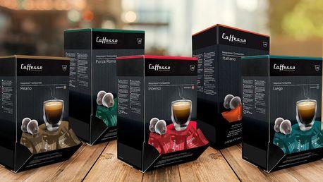 60 kapslí Cafesso i do kávovarů Nespresso