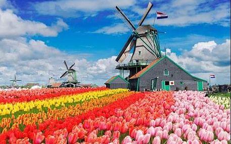 Návštěva Bruselu, Amsterdamu a květinového parku Keukenhof. 5 denní zájezd s ubytováním a průvodcem