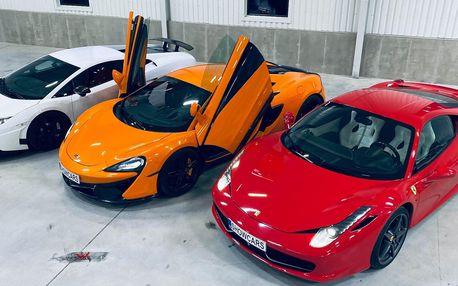 20 min. v autě snů: Porsche 911, Mustang i Ferrari