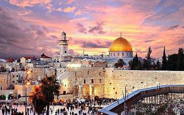Izrael letecky na 10 dnů, strava dle programu