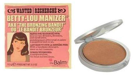TheBalm Betty-Lou Manizer Bronzer & Shadow 8,5 g bronzer, oční stíny a rozjasňovač pro ženy