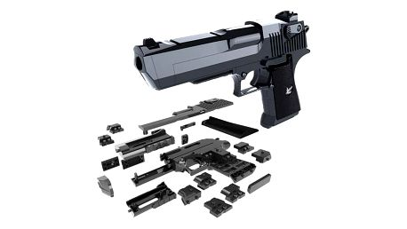Sestavovací pistole pro kluky - dodání do 2 dnů