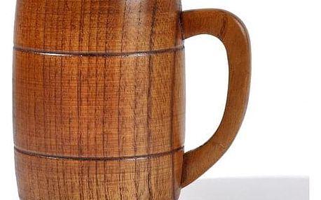 Dřevěný džbánek na pivo BR953 - dodání do 2 dnů