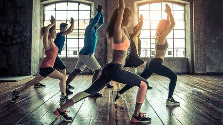 1–5 lekcí dle výběru: jóga, TRX, bodystyling ad.