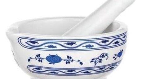 Vcas Hmoždíř keramika cibulák 11,5x6 cm