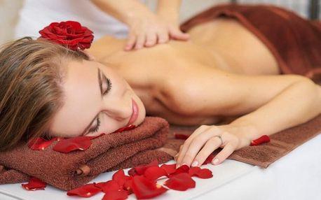 Hodina relaxace: zábal a aromatická masáž