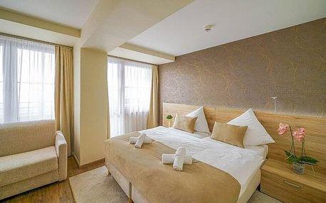 Vysoké Tatry: romantický Exclusive Apartmán ve 4* Grand Hotelu Bellevue s novým wellness, bazénem a polopenzí