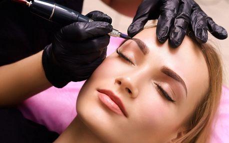 Permanentní make-up očních linek či obočí
