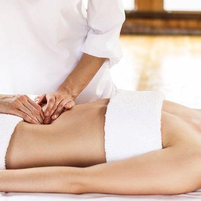 Hloubková masáž břicha na 50 minut: 1 až 3 vstupy