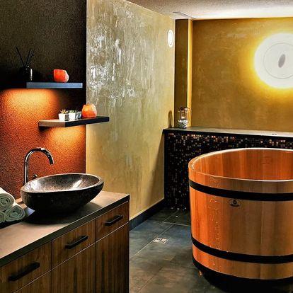 Relaxace v saunách a privátní lázeň pro 2 osoby