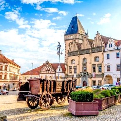 Krásy Jižních Čech: Tábor v Hotelu Slávia *** s dětmi do 6 let zdarma a snídaní