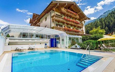 Rakouské Alpy v Hotelu Gutshof Zillertal **** s wellness, bazénem, půjčením kola a polopenzí