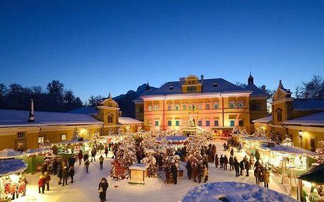 Rakouské Vánoce - Salzburg a zámek Hellbrunn, Salcbursko