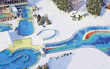 Termální lázně Bad Füssing a vánoční trhy v Pasově, Bavorsko