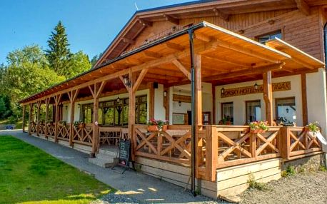Beskydy u turistických stezek: Hotel Martiňák *** s polopenzí, vířivkou, saunovým světem a Tropic wellness