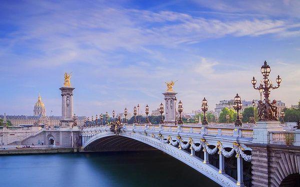 Vánoční Paříž - adventní romantika pod Eiffelovou věží, Île-de-France, autobusem, bez stravy2