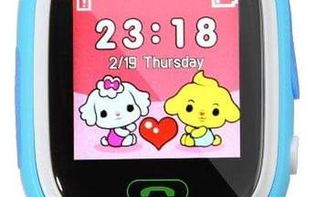 Dětské chytré hodinky s GPS - modrá - dodání do 2 dnů