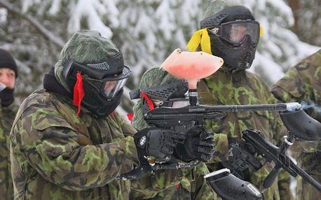 Zážitkový army paintball
