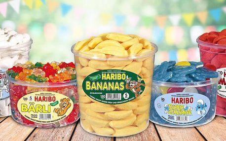 Ovocné želé Haribo: až 24 druhů oblíbených pamlsků