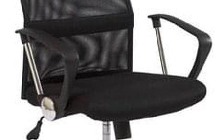 Židle kancelářská Q-025 černá