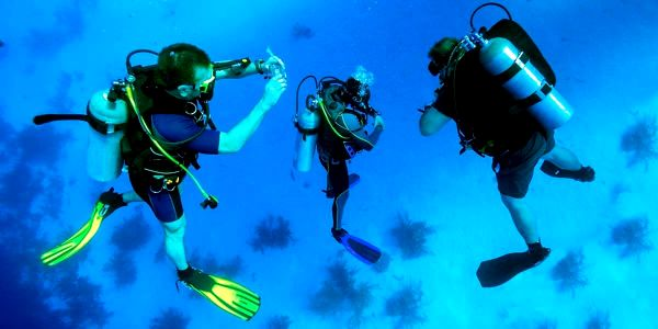 Ponor ve volné vodě s dohledem a zaškolením pro 1 osobu5