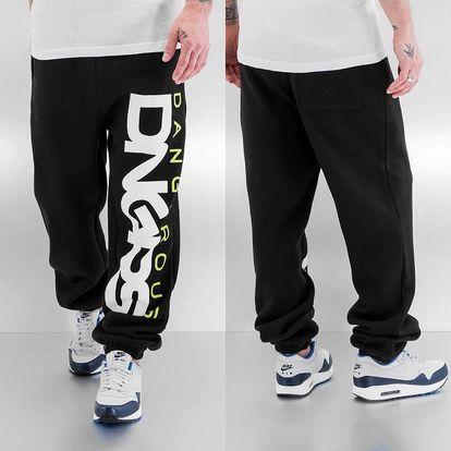 Dangerous DNGRS / Sweat Pant Classic in black 6XL