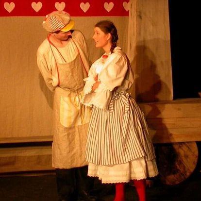 Vstupenka na představení Kominíkovo štěstí