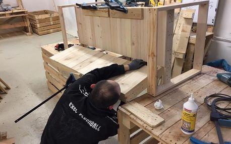 Kurz výroby nábytku z palet - workshop