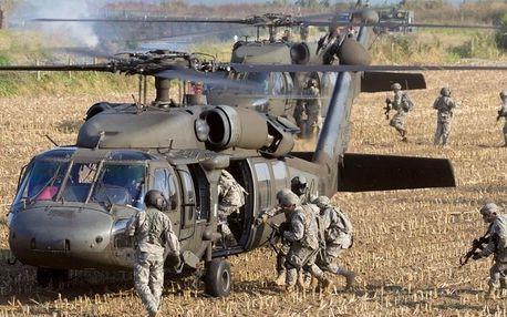 Vrtulníkový výsadek