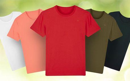 Zdravé tričko ze 100% certifikované bio bavlny