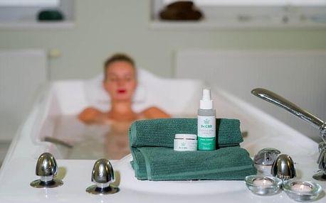 Karlovy Vary v Resortu Sanssouci **** s až 8 konopnými procedurami, neomezeným wellness a polopenzí